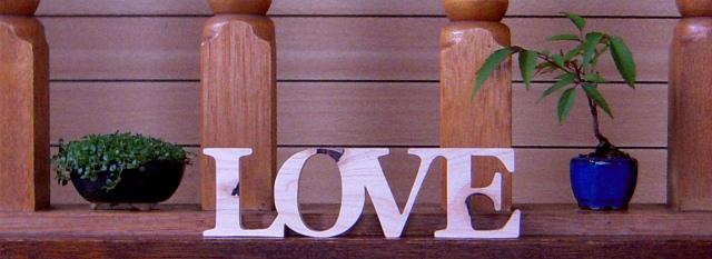 """""""LOVE"""" """"Love"""" """"love"""""""